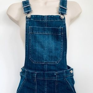H&M Skirts - H & M Jean Overall Mini Skirt Size 6